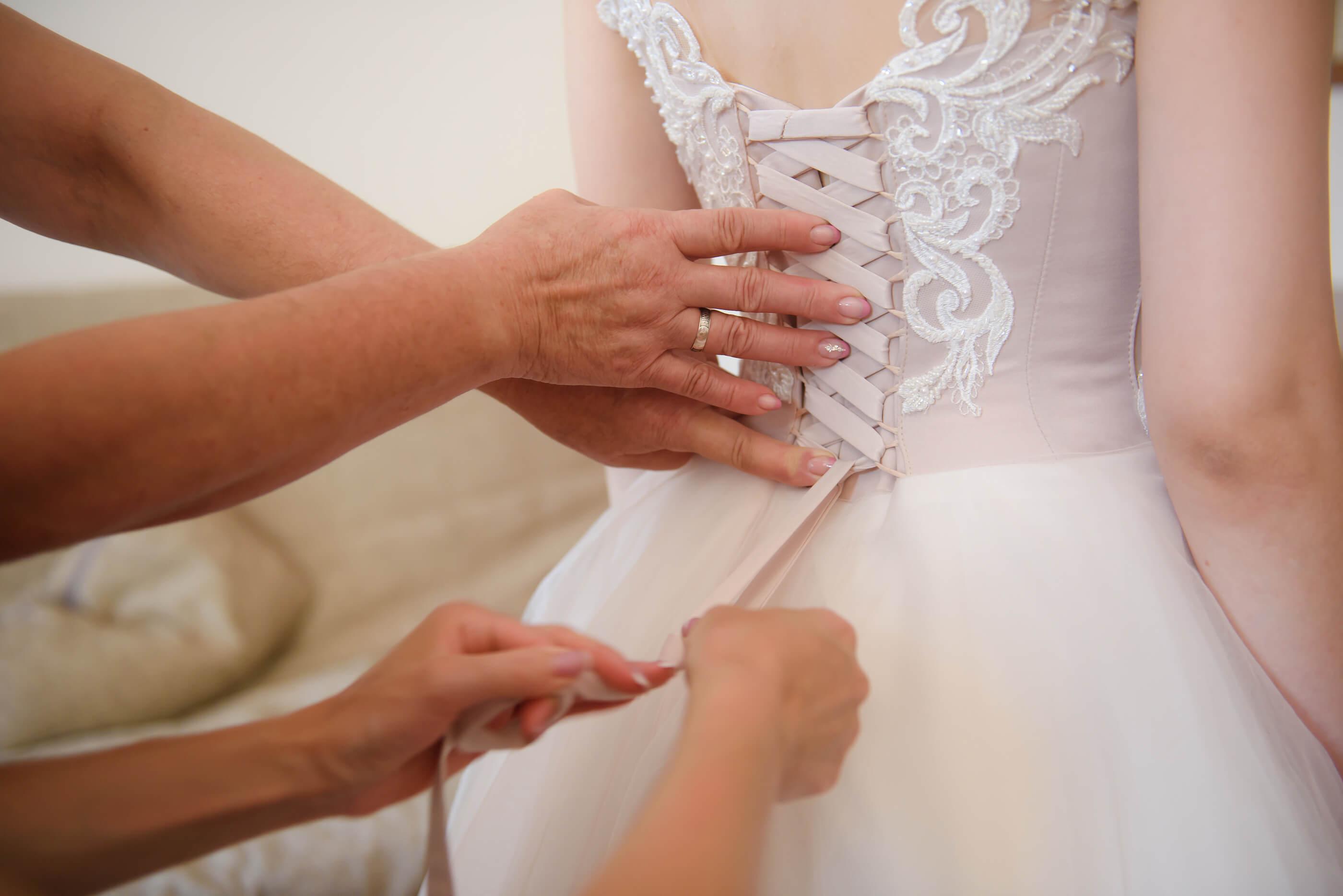 WEDDING DRESS TOO SMALL?